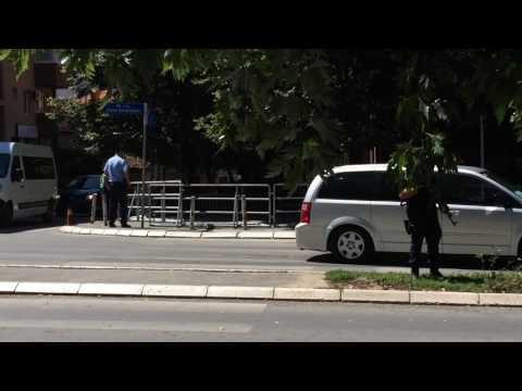 U.S. Vice President Joe Biden Police escort (Republic OF Kosovo)