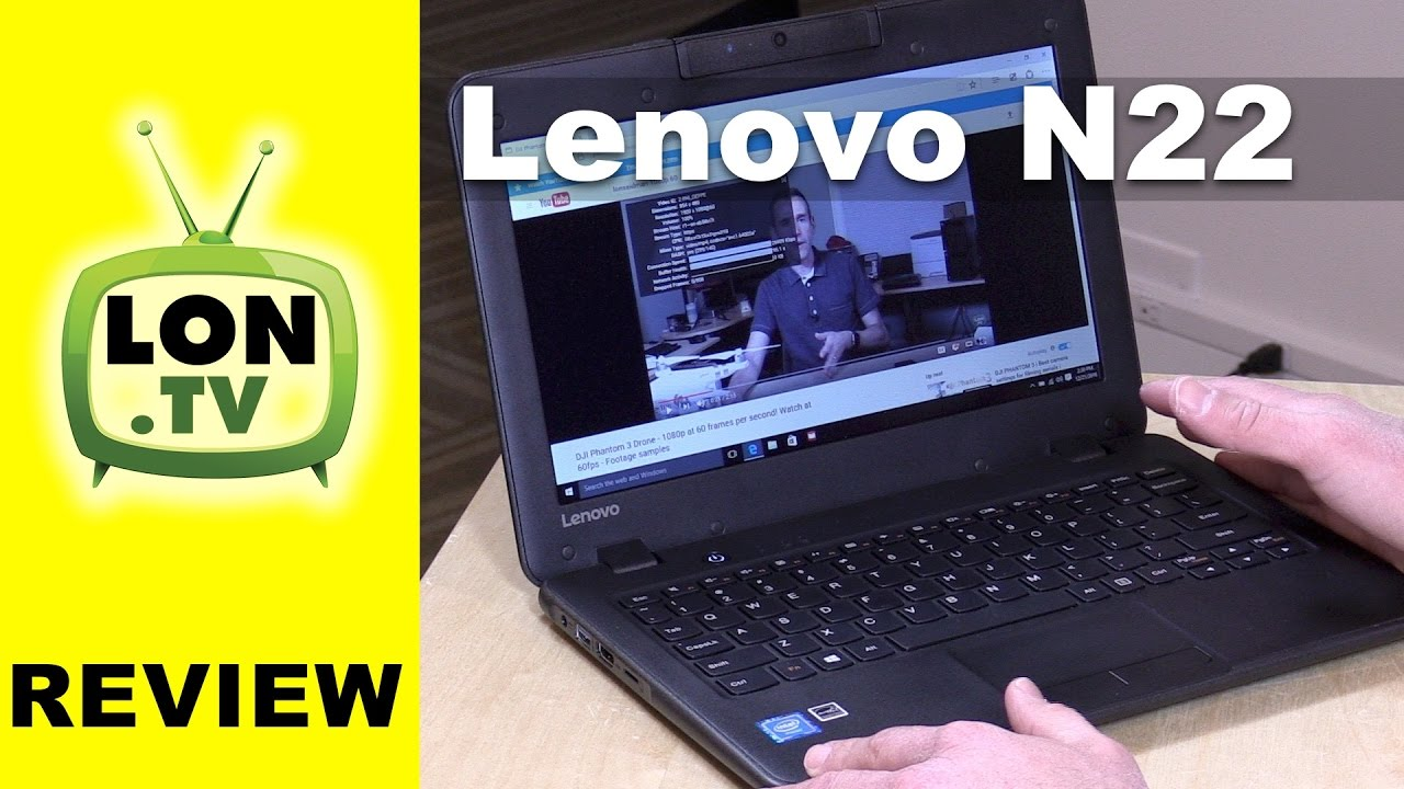 Lenovo N22 Rugged Windows Laptop Review - Under $200 with 4GB RAM 64GB  Storage