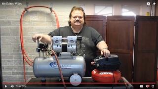 This Air Compressor is Quiet!