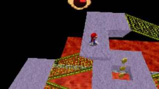 Super Mario 64 DS Walkthrough -Bowser in the Fire Sea/Secret S…