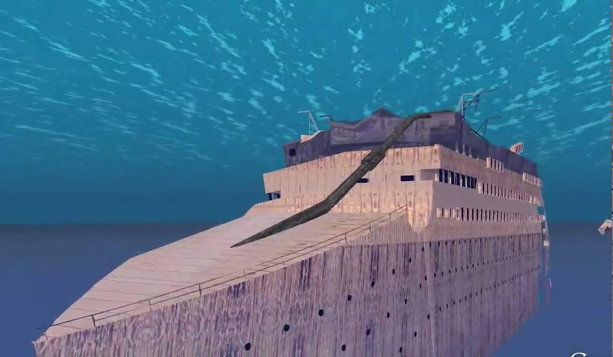 Titanic Wreck In Google Earth HD YouTube - Cruise ship google earth