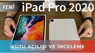 ÇOK İYİ OLMUŞ ! (iPad Pro 2020, 12.9 İNÇ, UZAY GRİSİ 128 GB KUTU AÇILIMI VE İNCELEME) ! #ipadPro2020