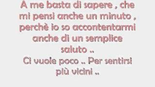 Laura Pausini - Scrivimi con Testo