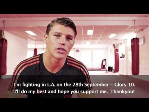 GLORY 10 Los Angeles -  Albert Kraus Pre Fight Interview
