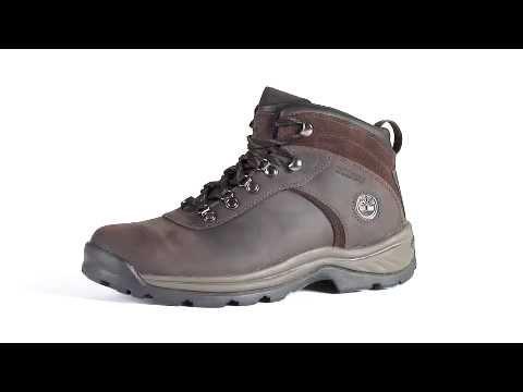 e914f262da Timberland Men s Flume Waterproof Mid Hiking Boot - YouTube