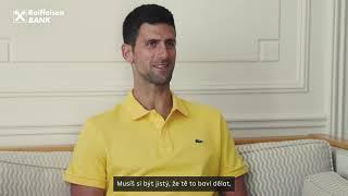 Novak Djokovic - Interview (16:9, cztitulky)