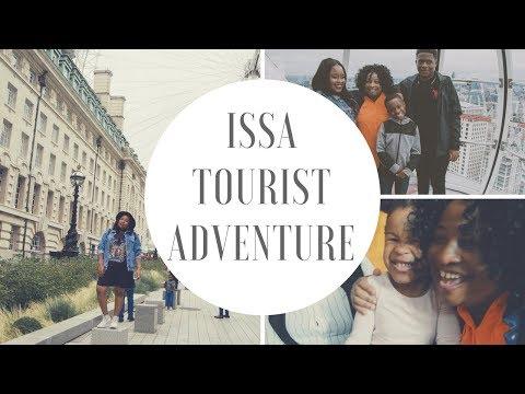 ISSA TOURIST ADVENTURE (in London Town)    VLOG 3