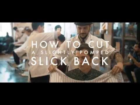 🔴 HOW TO: SLIGHTLY POMPED SLICKBACK ✖ Figaro's Barbershop Lisboa