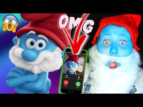 CALLING PAPA SMURF!! HE ANSWERED OMG!!