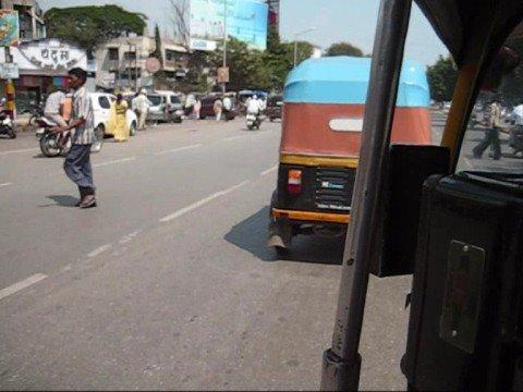 Rickshaw riding in