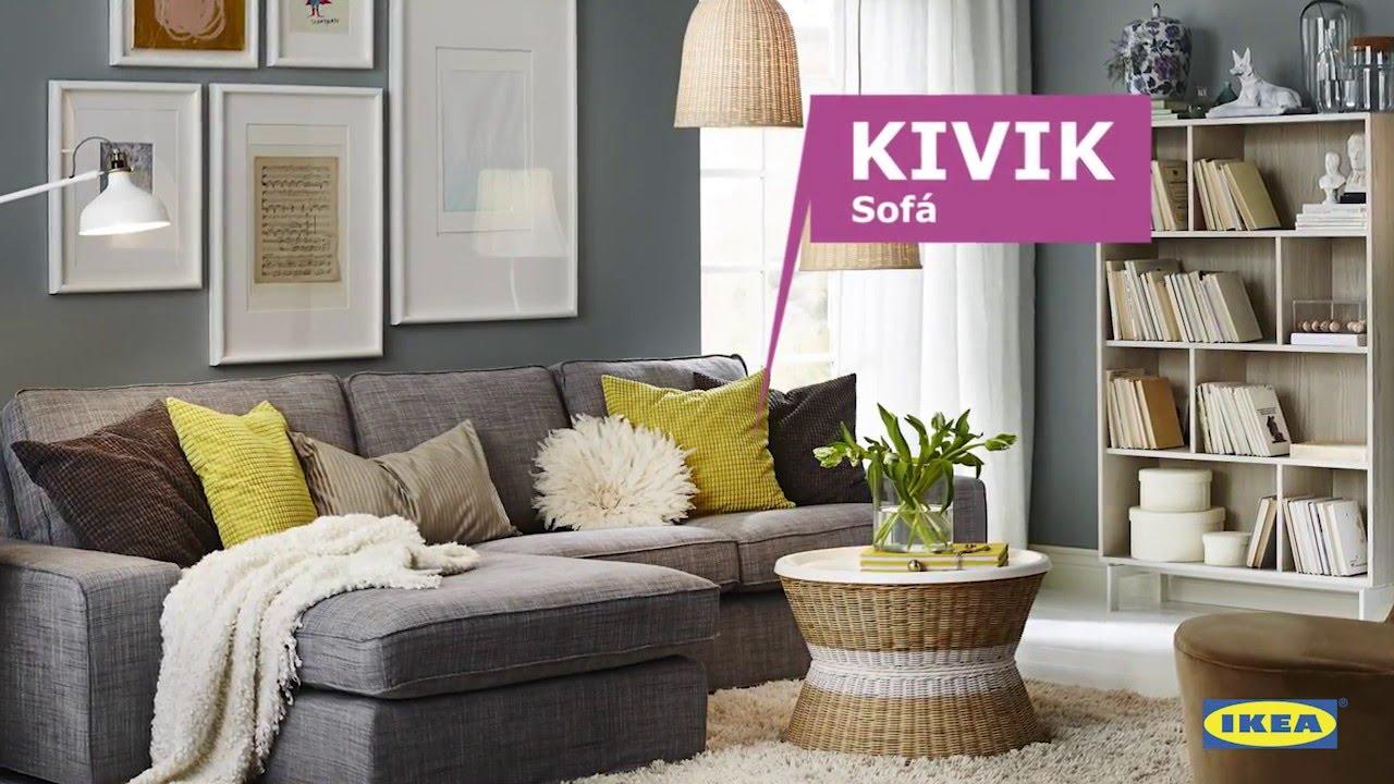 instrucciones de montaje del sof kivik ikea youtube. Black Bedroom Furniture Sets. Home Design Ideas