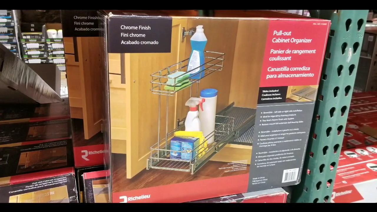 Costco! Under Counter Sliding Basket / Organizer! $19!!!