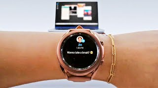 Galaxy Watch 3 first look: SpO2, ECG, blood pressure, and all new features!