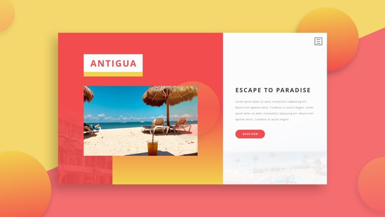 Adobe Xd Tutorial Simple Landing Page Design By Hunter Becton Skillthrive Medium