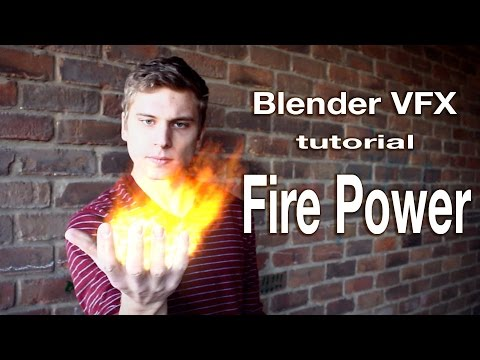 Blender VFX masking tutorial: Fire Power!