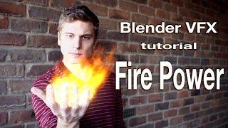 blender vfx masking tutorial fire power