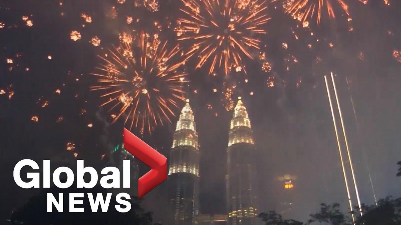Kuala Lumpur ushers in 2019 with impressive fireworks display