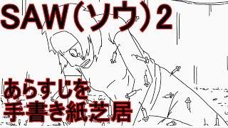 【すぐにわかる】SAW2 を手書き紙芝居で再現 SAW2 Picture-story show