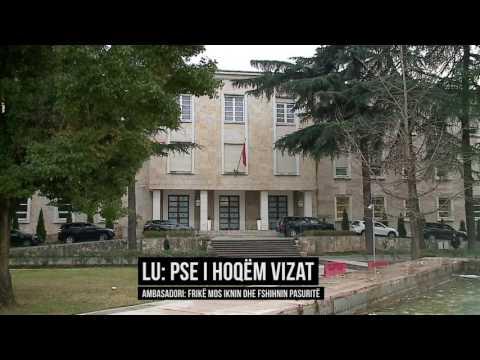Lu: Pse ua hoqëm vizat prokurorëve e gjyqtarëve - Top Channel Albania - News - Lajme