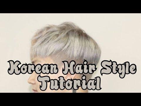 [Tutorial] Cara Style Rambut Cowok Korea | How to style Like Korean Hair