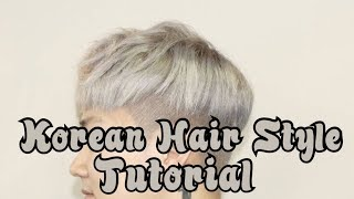 [Tutorial] Cara Style Rambut Cowok Korea | How to style Like Korean Hair