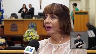 Jornal Acontece - Título de Cidadã Araraquarense - Darcy Dantas