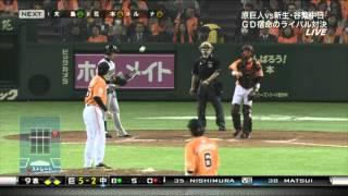 巨人西村投手の投球集です。 0:00~ 4月18日 VS中日.