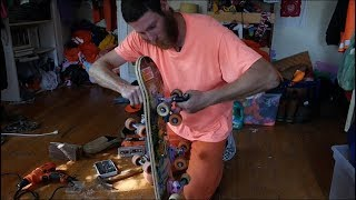 JENKEM - Building Frankenstein Skateboards With Orange Man