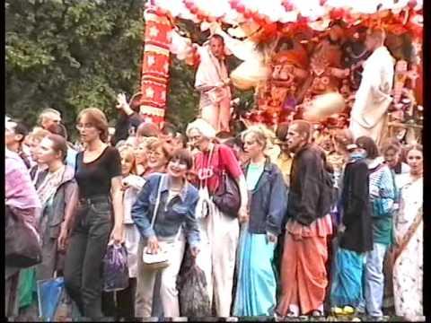Moscow Ratha Yatra 31.07.1999