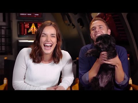 Marvel's AGENTS OF SHIELD Cast & Crew Celebrates 50 Episodes 2015 Clark Gregg Chloe Bennet ABC HD
