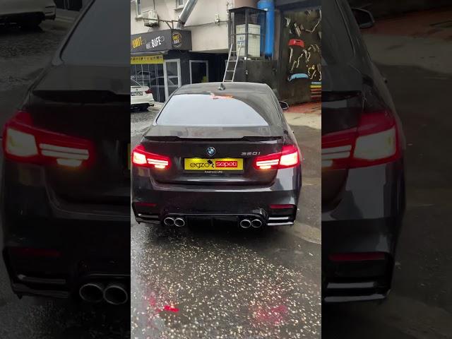 BMW F30 KUMANDALI VAREX EGZOZ SİSTEMİ