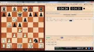 Trinh Ba Anh white vs Deep Fritz 8 black