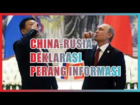 China dan Rusia deklarasikan perang informasi