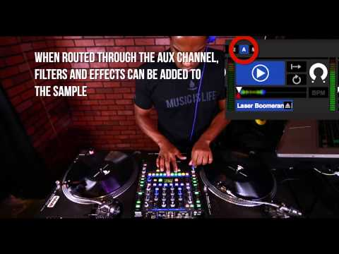 Serato Scratch Sample Player | DJ Choc | Scratch DJ Academy