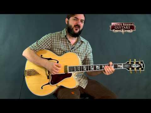 Gibson Custom LeGrand Hollowbody Electric Guitar Natural D