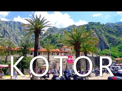 Kotor Old Town 2017 -  Best Places to Visit in Kotor, Montenegro