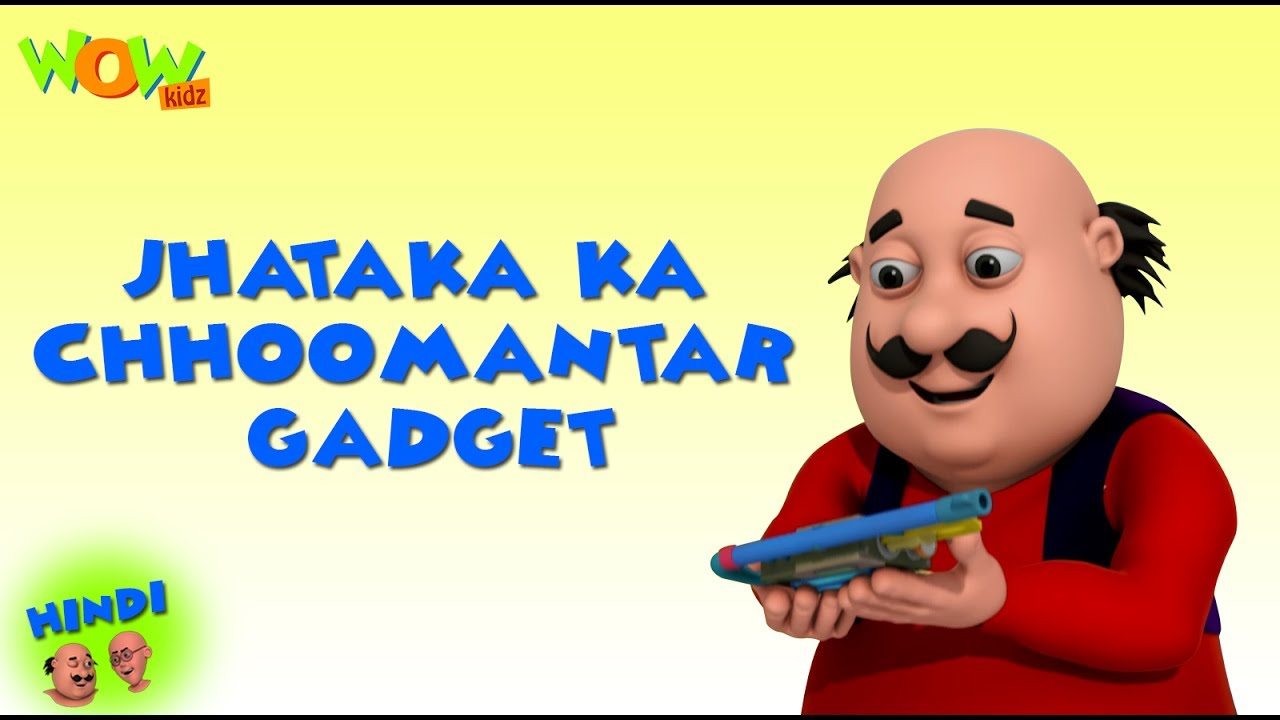 Dr Jhatka Ka Choomantar Gadget Motu Patlu In Hindi 3d Animation