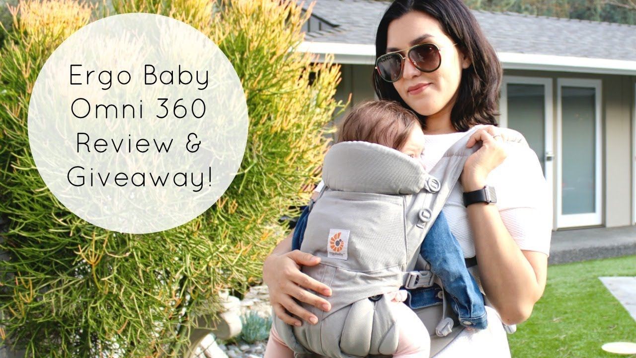 9b9df05356f The BEST Baby Carrier  Ergobaby Omni 360 Review   Giveaway! - YouTube