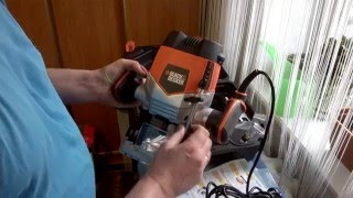 Обзор фрезера Black&Decker KW900EKA.Overview router Black & Decker KW900EKA.
