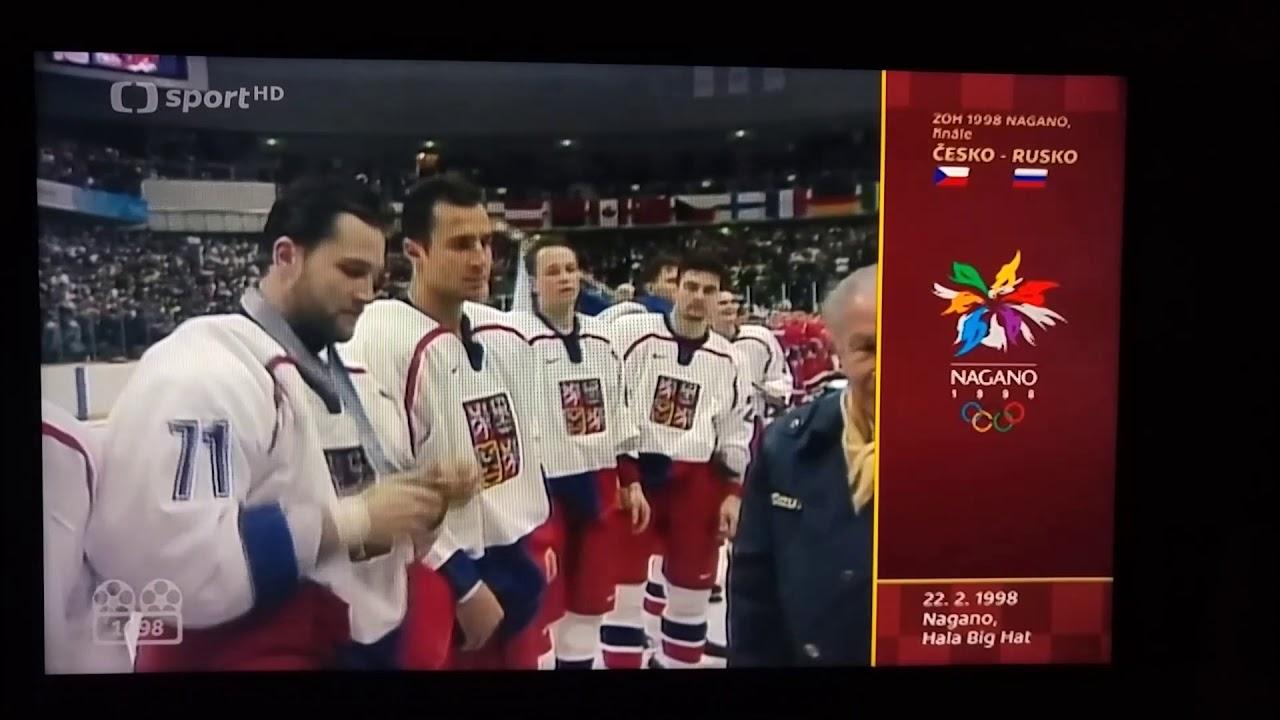 Hokej Nagano 1998 - Fin U00e1le - P U0159ed U00e1v U00e1n U00ed Medail U00ed
