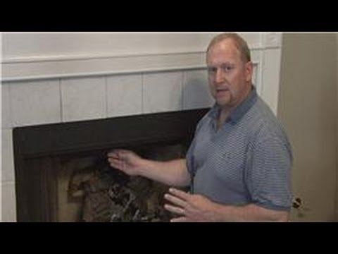 Basic Home Improvements : How Do You Open a Fireplace Damper ...