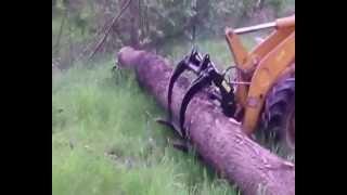 Chwytak do drzewa bali atmp maszyny rolnicze