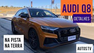 Audi Q8: DETALHES e test drive na PISTA e OFF ROAD