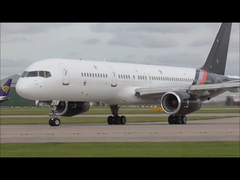 """Incredible Close Up Departures - Manchester """"Ringway"""" Airport, MAN! 