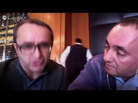 Oscars hangout: 'Leviathan' director Andrey Zvyagintsev and producer Alexander Rodnyansky