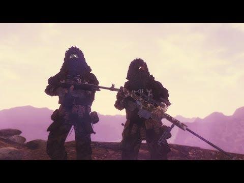 Fallout: New Vegas Mods 2019 - Sniper Gameplay (60 FPS) |