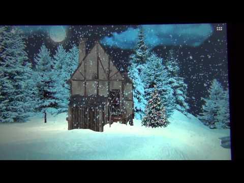 Снег HD Deluxe Edition живые обои для андроид