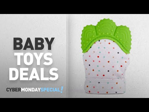 Top Cyber Monday Baby Toys Deals: Silicone Baby Teether Mitten, S-World Kee Like Teething Toys for