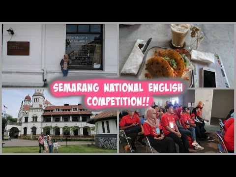 Semarang National English Competition Vlog!
