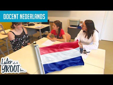LESGEVEN IS WAT TESSA GRAAG WIL. DAG WERKEN ALS DOCENT NEDERLANDS | Later Als Ik Groot Ben (RTL4)